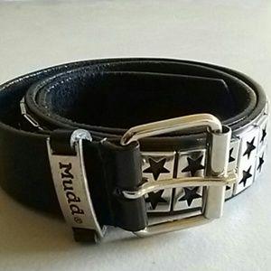 Mudd Star metal belt
